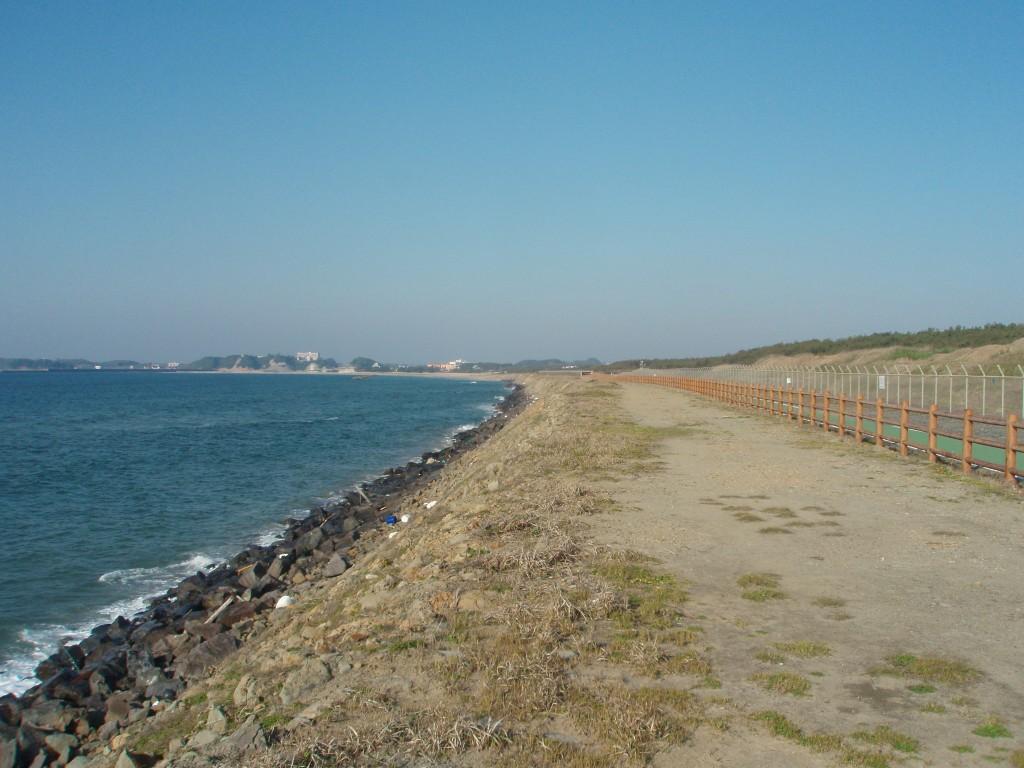 芦屋漁港方面の写真